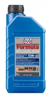 Liqui Moly Mineralisches Motoröl Formula Super 15W-40  1 Liter Bild 1