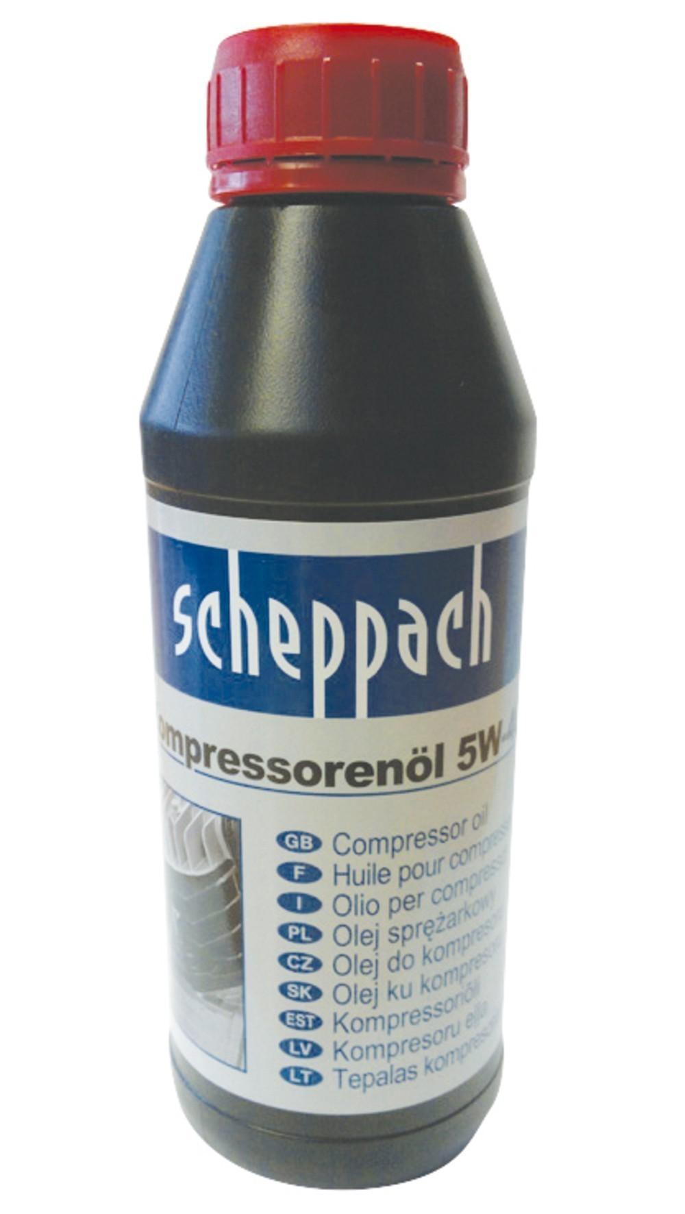 Scheppach Kompressorenöl Ultra Performance Longlife SAE 5W-40 500ml Bild 1