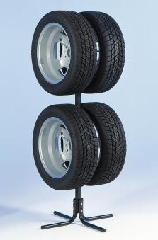 Felgenbaum / Reifenständer für 4 PKW Reifen verstellbar Bild 1