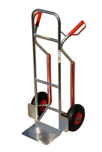 Sackkarre Alu pro-bau-tec Stapelkarre mit Treppenrutsche Bild 1