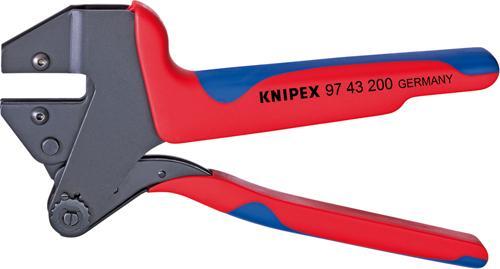Crimp-Systemzange 200mmohne Einsätze Knipex Bild 1
