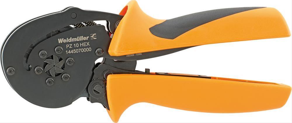 Crimpwerkzeug PZ 10 HEX 0,14-10qmm Weidmüller Bild 1