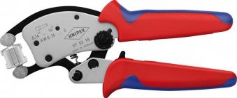 Crimpzange f.Aderendh. 0,14-16mm2 Twistor Knipex Bild 1