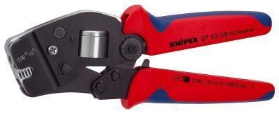 Crimpzange selbsteinst. 0,08-10qmm Knipex Bild 1
