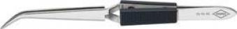 Kreuz-Pinzette spitz geb.160mm vernickelt Knipex Bild 1